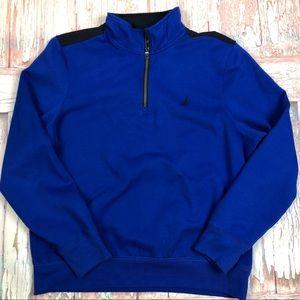 Nautica Men's 1/4 Zip Pullover Fleece